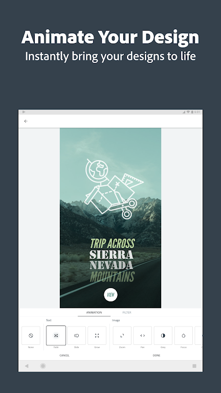 Adobe Spark Post: Graphic Design & Story Templates  poster 11