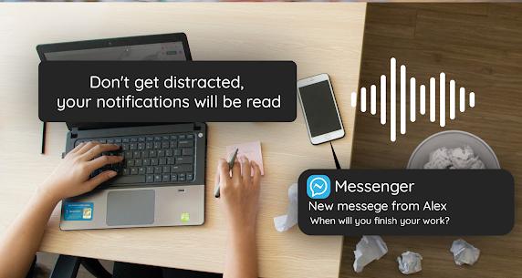 Notification Reader – Voice Notifications MOD APK 1