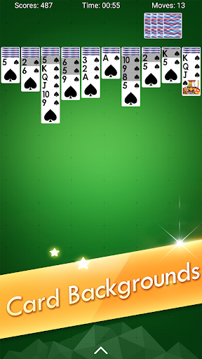 Spider Solitaire - Classic Card Games 4.7.0.20210611 screenshots 5