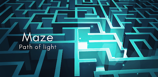 Screenshot of Maze Path of light