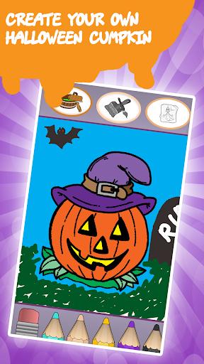 Kids coloring book halloween  screenshots 1