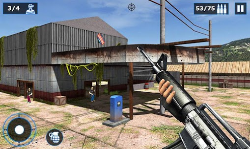 Combat Shooter 2: FPS Shooting Game Mod Apk (Dumb Enemy) 3