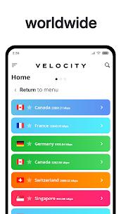 Velocity VPN (No Ads) – Unlimited for Free! (Pro/ Mod APK) v1.1.3 5