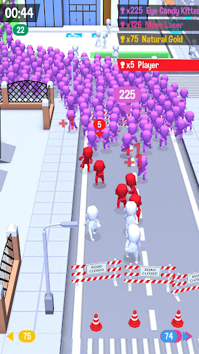Code Triche Crowd City (Astuce) APK MOD screenshots 2
