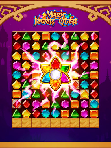 Magic Jewel Quest: New Match 3 & Jewel Games 2.0 screenshots 5
