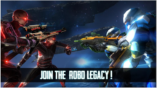 Robo Legacy: Strange Robot War Battleground screenshots 11