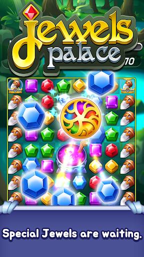 Jewels Palace: World match 3 puzzle master apkslow screenshots 10