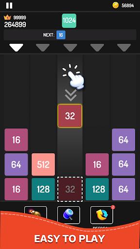 Drop Numbers Blocks - Merge Number Puzzle  screenshots 1