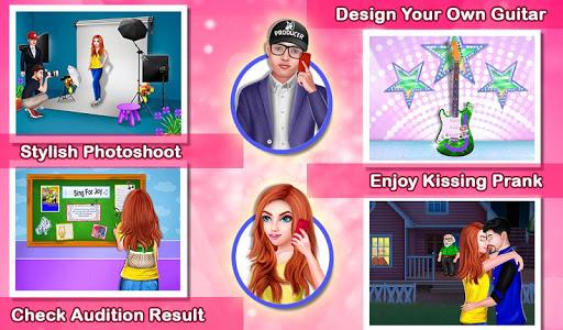 Girl Become a Rockstar : Model Success Story 1.0.5 Screenshots 7