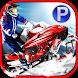 Snowmobile Racing Simulator Parking Games 2017