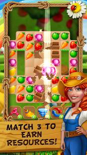 Jane's Village - Farm Fixer Upper Match 3 Game