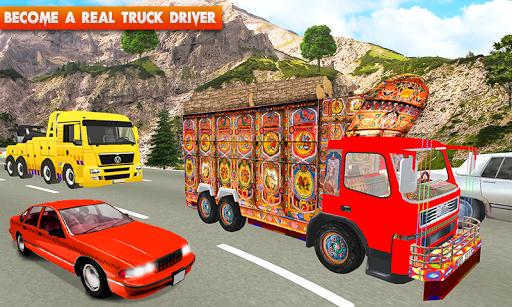 Euro Cargo Real Truck Driver apktreat screenshots 2