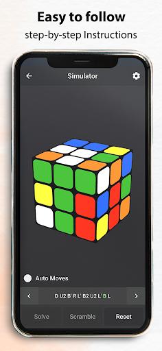 Rubik's Cube : Simulator, Cube Solver and Timer 1.0.4 screenshots 4
