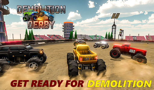 Demolition Derby 2021 - Monster Truck Destroyer modavailable screenshots 18