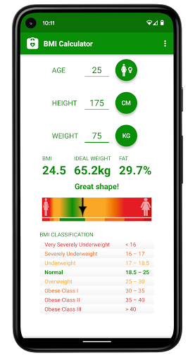 BMI Calculator 2.04 screenshots 1