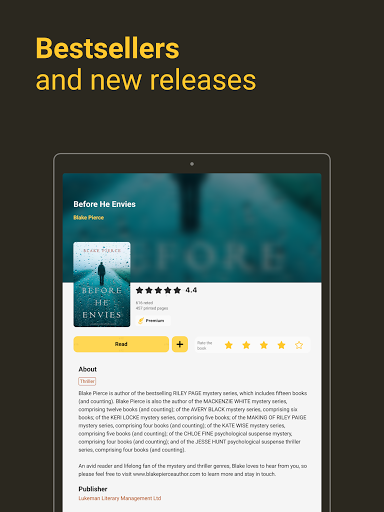 MyBook: books and audiobooks 3.36.2 Screenshots 8