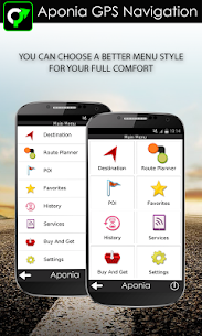 GPS Navigation & Map by Aponia v5.0.1108 Full APK 2