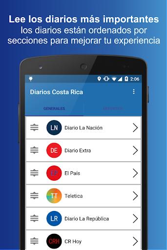 Diarios Costa Rica 1.0 screenshots 1
