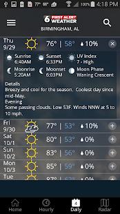 WBRC First Alert Weather screenshots 4
