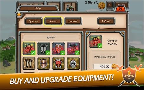 Knight Joust Idle Tycoon Mod Apk (Unlimited Money) 2