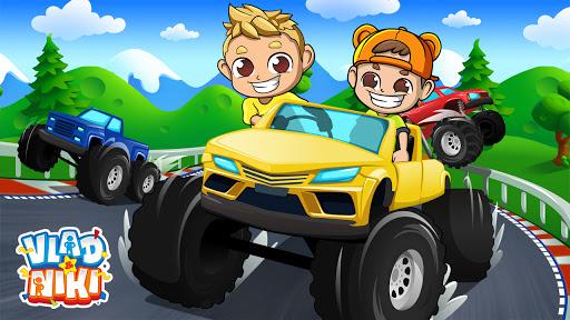 Monster Truck Vlad & Niki modiapk screenshots 1