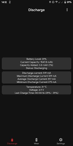 Capacity Info: Find out battery wear apktram screenshots 4