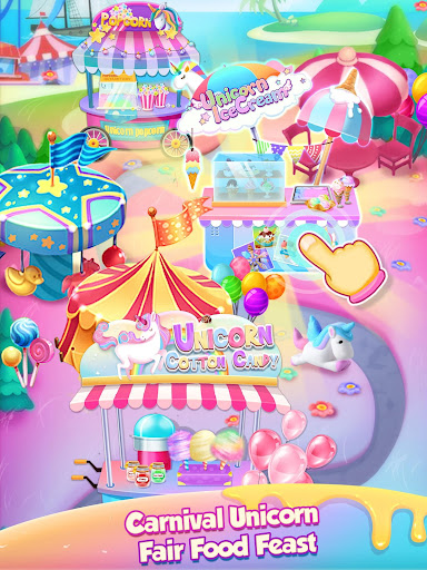 Carnival Unicorn Fair Food - The Trendy Carnival screenshots 12
