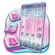 Pink Birch Tree Launcher Theme
