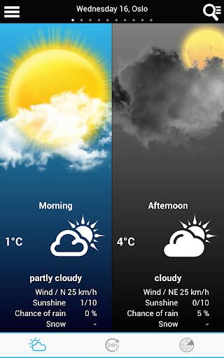 Weather for Norway  screenshots 1