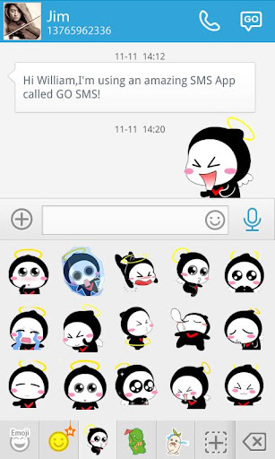 GO SMS HULA ANIMATED STICKER For PC Windows (7, 8, 10, 10X) & Mac Computer Image Number- 7