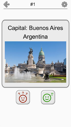 Capital Cities of World Continents: Geography Quiz 1.2 screenshots 16