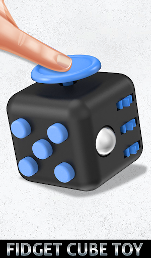 Fidget Cube Antistress Buttons 3D Toys Satisfying apkpoly screenshots 12