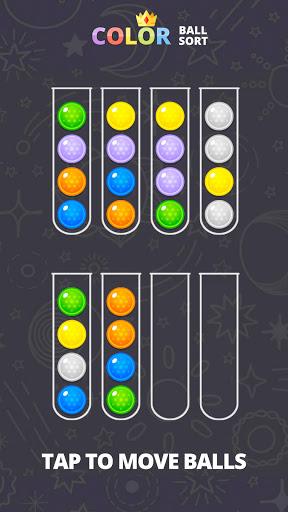 Color Ball Sort - Sorting Puzzle Game apktreat screenshots 2