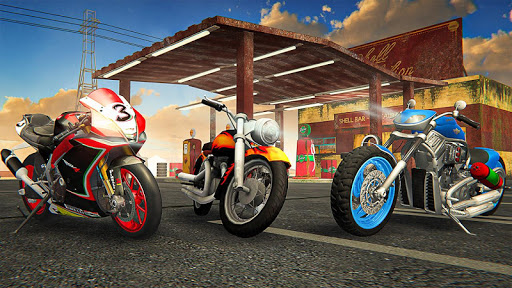 Racing In Moto Traffic Stunt Race 1.20 screenshots 10