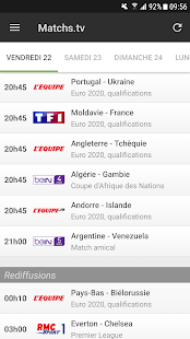 Programme TV Foot Capture d'écran