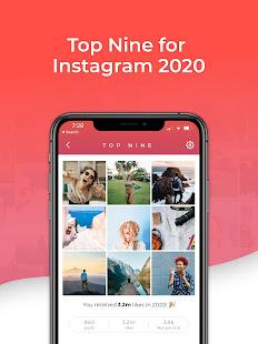 Top Nine for Instagram - Best of 2020 4.0.5 Screenshots 4