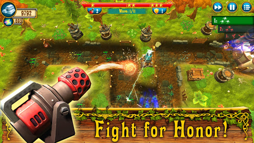 Fantasy Realm TD. Offline Tower Defense Game  screenshots 3