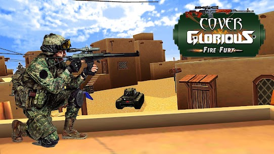 Cover Glorious Fire Fury – Best Shooting Games 18 Hack for iOS and Android 1
