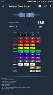 ElectroCalc Mod Apk- DIY Electronics Calculator (Pro Unlocked) 2