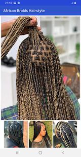 African braids hairstyle 2021 ud83dude0d - offline 22.0 Screenshots 7