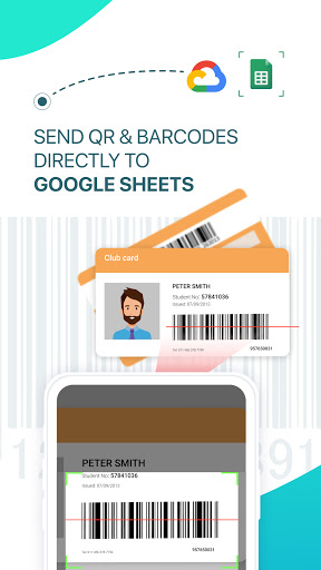 Scan to Google Sheets - QR & Barcode