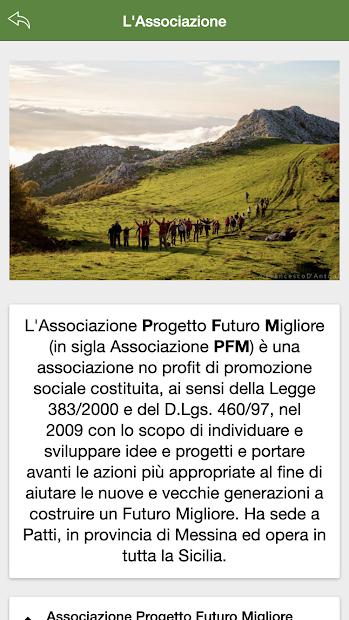 APPassociazionePFM screenshot 2