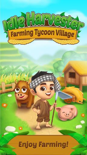 idle harvester: farming tycoon village screenshot 1