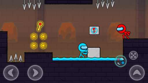 Red and Blue Stickman : Season 2 android2mod screenshots 5