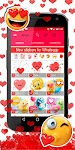 screenshot of 💕😍 WAStickerApps love stickers for whatsapp