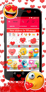 ud83dudc95ud83dude0dWAStickerApps animated stickers for Whatsapp 4.7.1 Screenshots 5