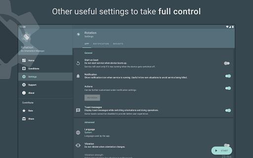 Rotation | Orientation Manager apktram screenshots 20