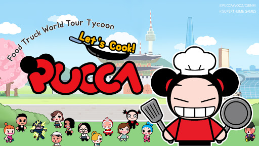 Pucca, Let's Cook! : Food Truck World Tour  screenshots 9
