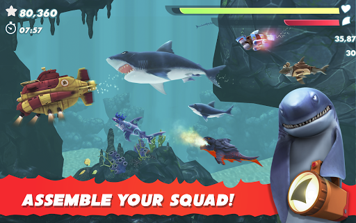 Hungry Shark Evolution - Offline survival game  screenshots 15