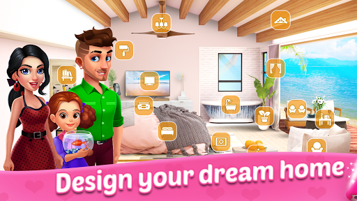 Merge Dream - Mansion design - Decorate your house android2mod screenshots 15